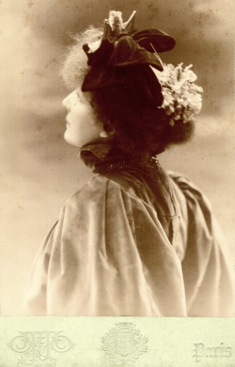 The divine Sarah Bernhardt.