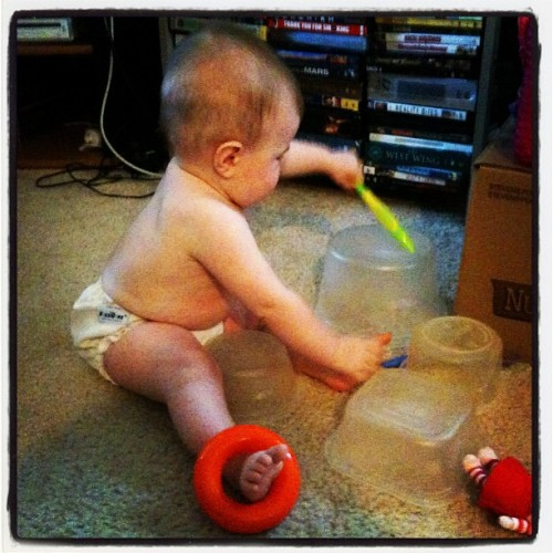 Drummer baby.  (Taken with Instagram)