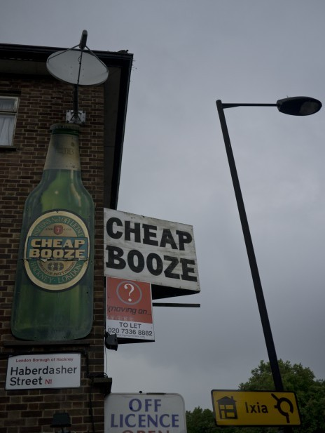 Now, that's how you advertise alcohol. In Hackney, Londontown… Original Article
