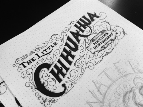 typeverything:  Typeverything.com The Little Chihuahua logo concept by Drew Melton.