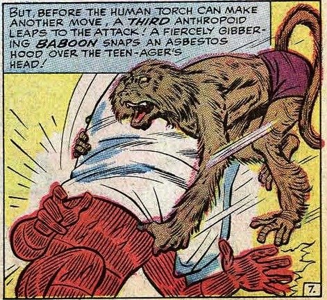 Yep. This is still happening.   Fantastic Four #29 (1964)