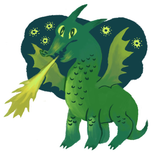 demonslikeus:  Green dragon