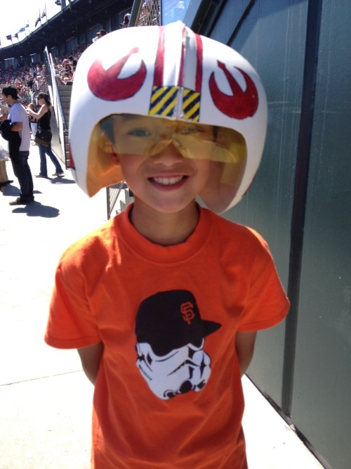Bring your glove and Helmet to #StarWarsDay!