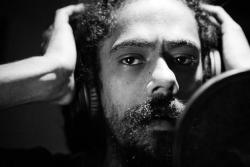 marleygyal:  In the studio where he produces his magic…