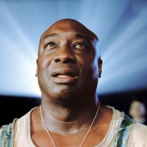 simplysheneka:  Wow!! Rest in Peace Michael Clarke Duncan from the famous Green Mile! Crazy! 😢 (Taken with Instagram)