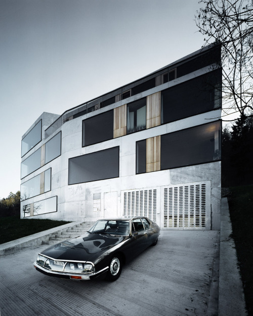 thingsmagazine:  Apartment building by AFGH, Switzerland