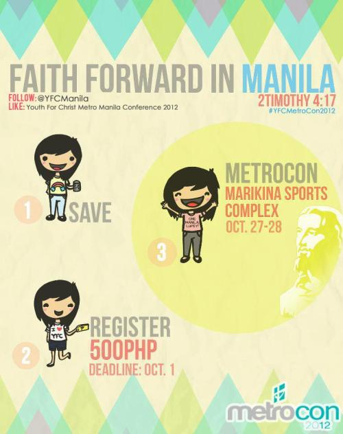Metrocon 2012 October 27-28, 2012 Marikina Sports Complex Register Now! :D
