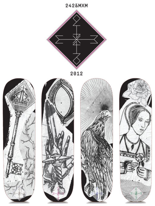mxme:  my collab skateboards are now available from the 242 website!!!! http://www.242shop.ch/blog/?p=817