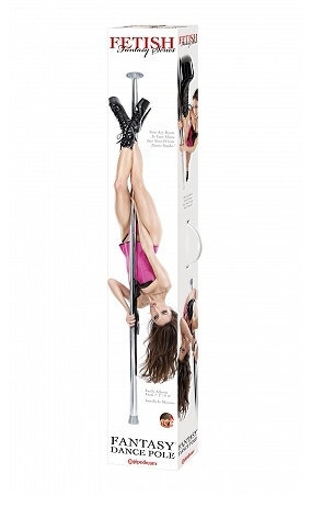 4toys:  Fantasy Dance Pole Turn your nights into something special with this Fetish Fantasy Dance Pole. Imagine becoming your partner's private dancer to make those special moments extra hot. With the ability to adjust the height, this portable pole can turn any room into your own private dance studio. Great for adult entertainers who like to practice before a performance. CLICK HERE for more details.