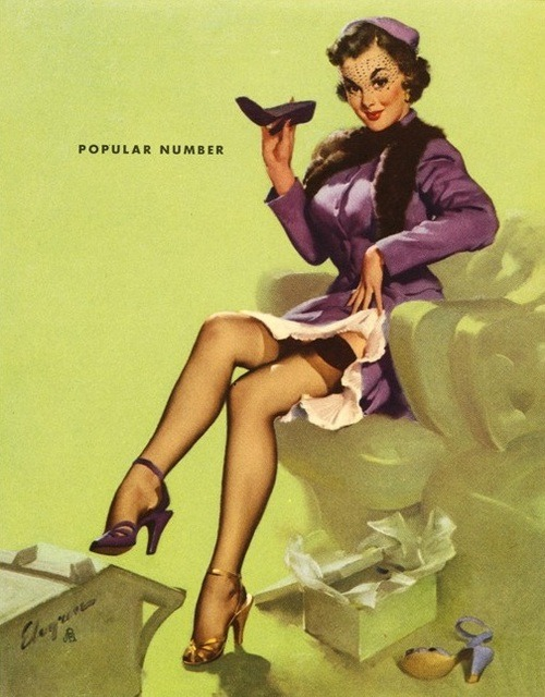 Pin up 031 - The Popular Number