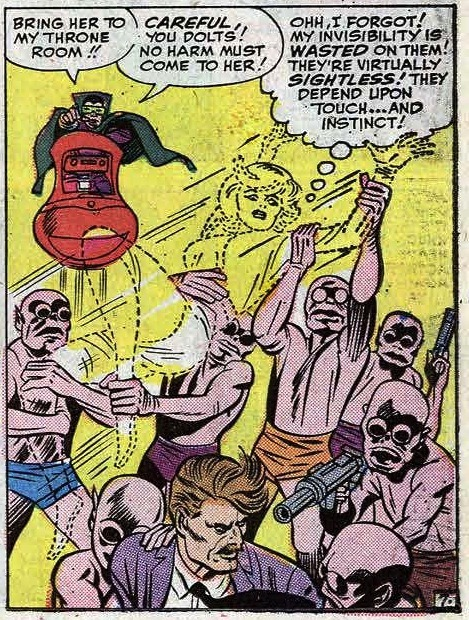 Sometimes comics are perfect. Fantastic Four #31 (1964)