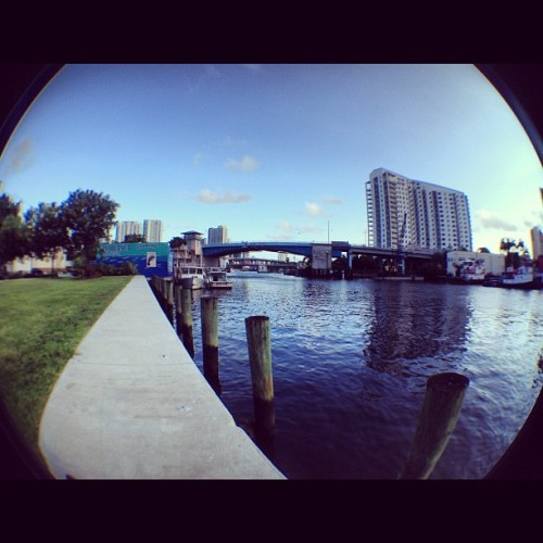 #miami #bridges #fisheyelens #iprolens  (Taken with Instagram)