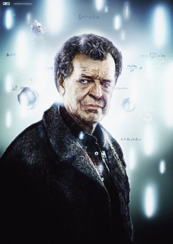 Walter Bishop by Nicolas Monin-Baroil