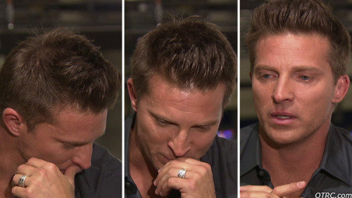 "Steve Burton recently shocked fans of ""General Hospital"" by announcing that he is leaving the show after playing Jason Morgan on and off for 21 years. He recently sat down with OTRC.com to explain why he's exiting the soap. And as you can tell from the photos, he became emotional while talking about it. Your fans are going to miss you very much, Steve! Check out our exclusive interview with Steve Burton (with video) and 9 things to know about his ""General Hospital"" departure and future plans."