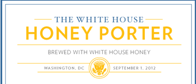 WHITE HOUSE HONEY PORTER Ingredients 2 (3.3 lb) cans light unhopped malt extract 3/4 lb Munich Malt (cracked) 1 lb crystal 20 malt (cracked) 6 oz black malt (cracked) 3 oz chocolate malt (cracked) 1 lb White House Honey 10 HBUs bittering hops 1/2 oz Hallertaur Aroma hops 1 pkg Nottingham dry yeast 3/4 cup corn sugar for bottling For recipe go|Here