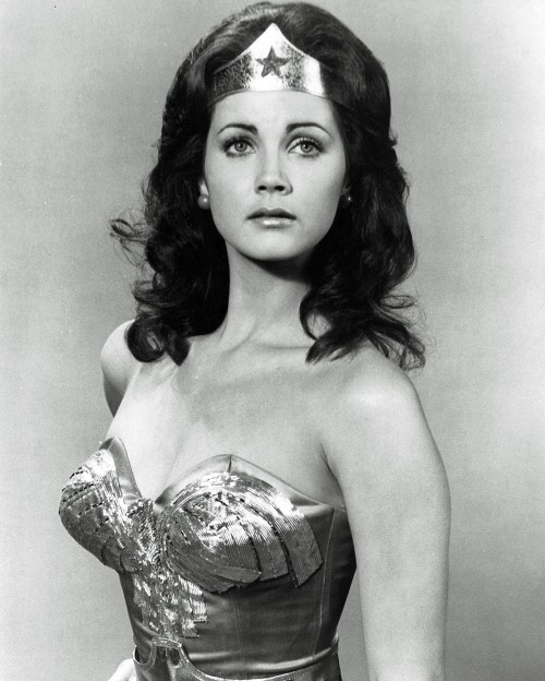 superseventies:  Lynda Carter as Wonder Woman