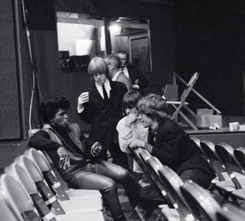 James Brown and the Rolling Stones (via If Charlie Parker Was a Gunslinger, There'd Be a Whole Lot of Dead Copycats)