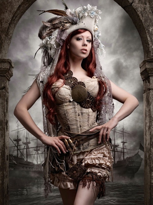 londonwarrior:  Steampunk pirate