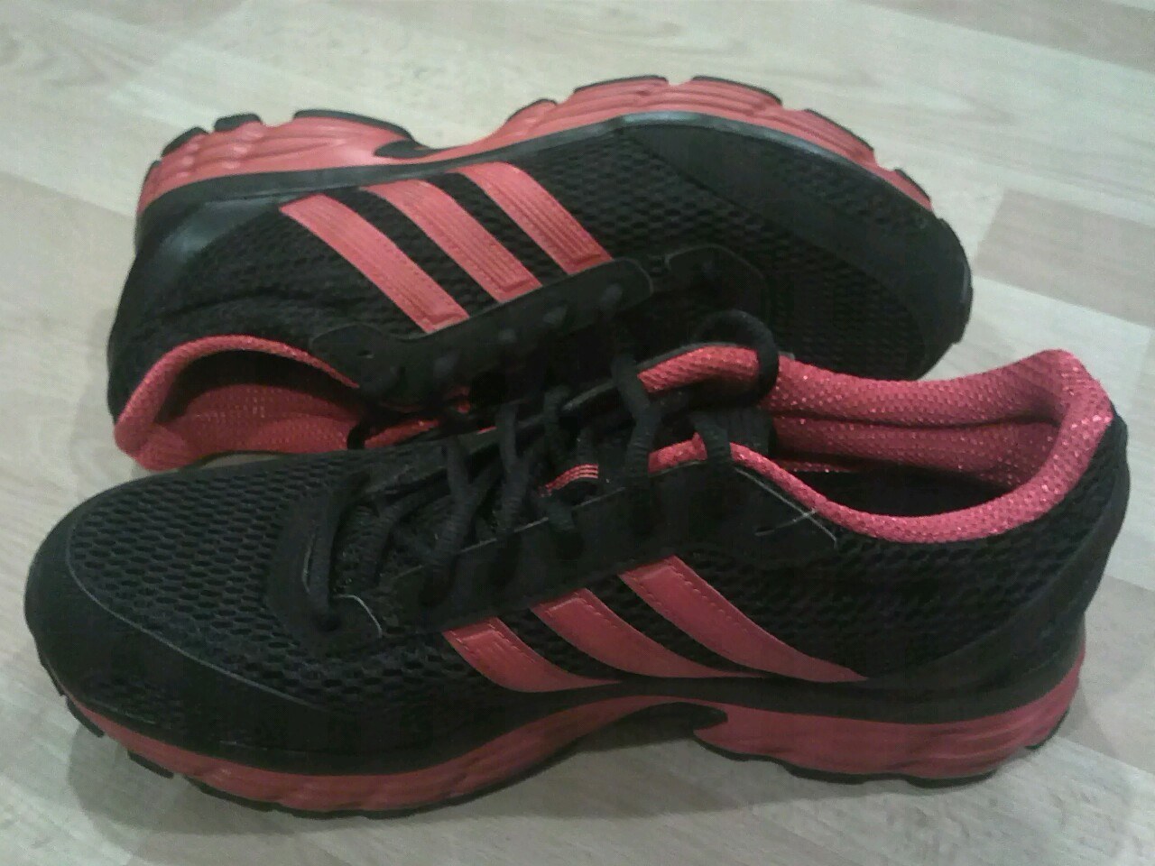 Just got new shoes :) Adidas Vanquish 6 M