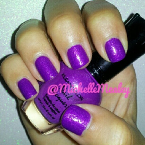 #kleancolor #lusciouslilac #notd #nailpolish #nails #purple #barbiefingers  (Taken with Instagram)