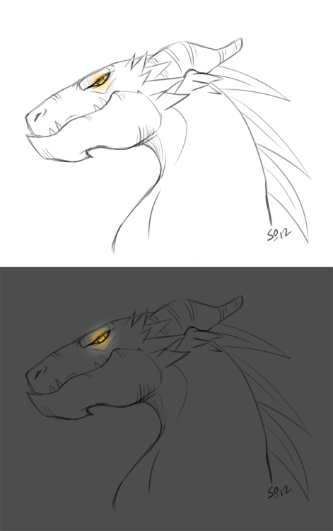 cedeskiva:  Badass dragonhead by ~BUBBLE89  CEDE Y U REBLOG THIS XD aw<3