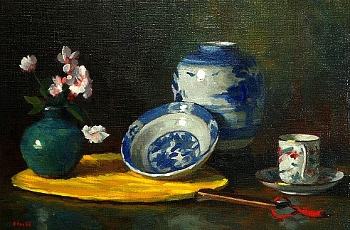Gregory Hull Still Life 20th century