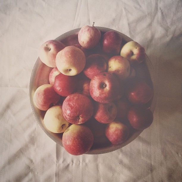 #stilllife #apples #obviously #shootingeverything (Taken with Instagram)