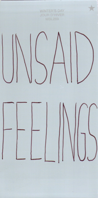 "the-girlwhocouldfly:  AND THEN THERE'S ""SAID FEELINGS"" THAT YOU SPOKE AND NOTHING CAME FROM THEM ANd oh god maybe I should just go to sleep"
