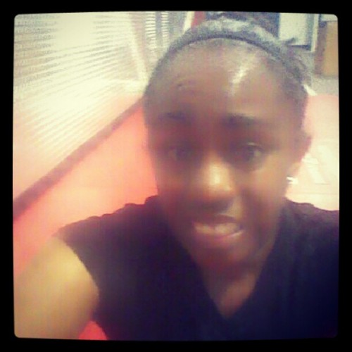Post-workout glow. Lol (Taken with Instagram at boom fitness)