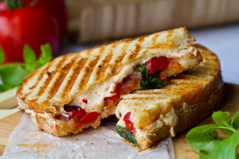 yeasoyea:  Vegan Pepperjack Panini