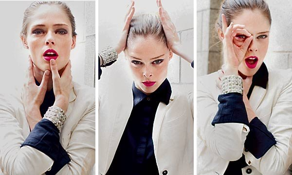 Coco Rocha (2012) The New York Times Showing us how it's done and the importance of branding yourself. link to the article!