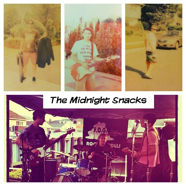 Band to watch and they are coming to melt a face near you. #TheMidnightSnacks (Taken with Instagram at Long Beach, NY)