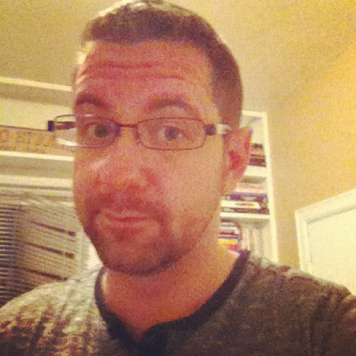 Rockin' the facial hair again. (Taken with Instagram)