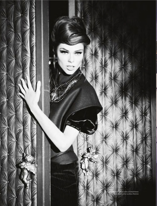 Coco Rocha by Ellen Von Unwerth for Vs. Magazine September 2012