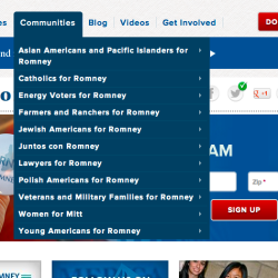 MittRomney.com lists 11