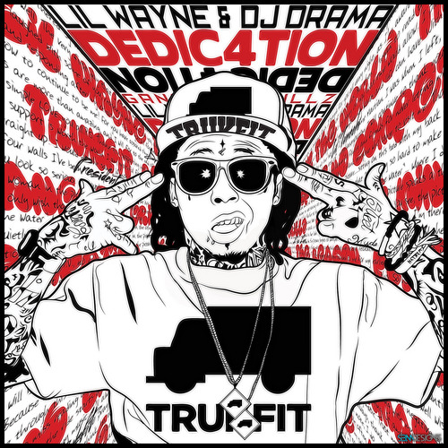 chillfest:  Weezy's Dedication 4 is out, and you should be listening to it. As with his last mixtape, he's killing your favorite track, over and over. Turns out, he's been doing more than skateboarding. Click Wayne for the download.