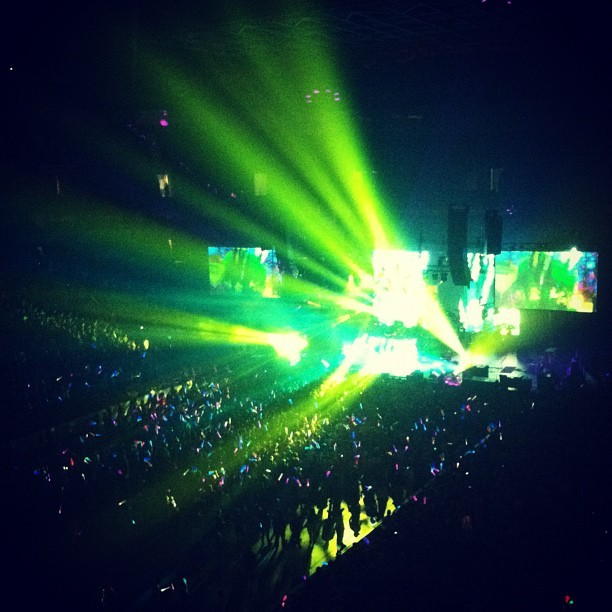 SKRILLEX!!! (Taken with Instagram)