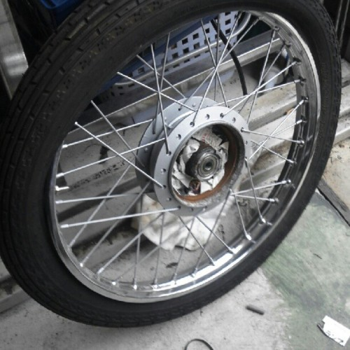 polished with new rubber (Taken with Instagram)