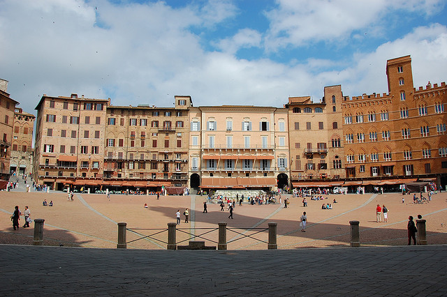 | ♕ |  Piazza del Campo of Siena  | by © VT_Professor | via ysvoice