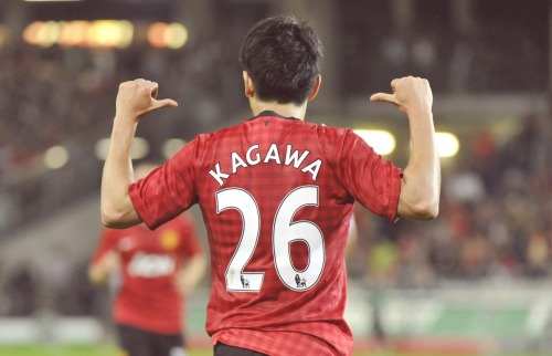 Manchester United's Player of the Month: August 2012 = Shinji Kagawa