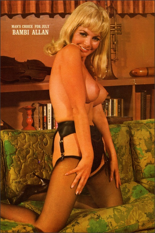Mans Pleasure magazine, 1969