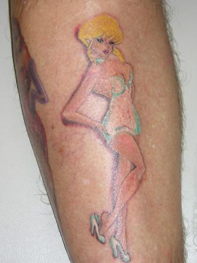 fuckyeahralphbakshi:  Holli Would Cool World tattoo -FYRB
