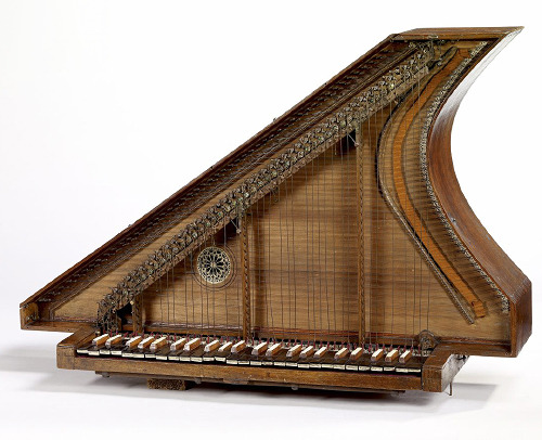 18th century vertical spinet