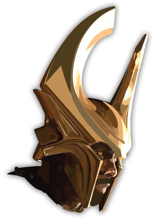 A portrait of Heimdall the gate-keeper from the Marvel film Thor.