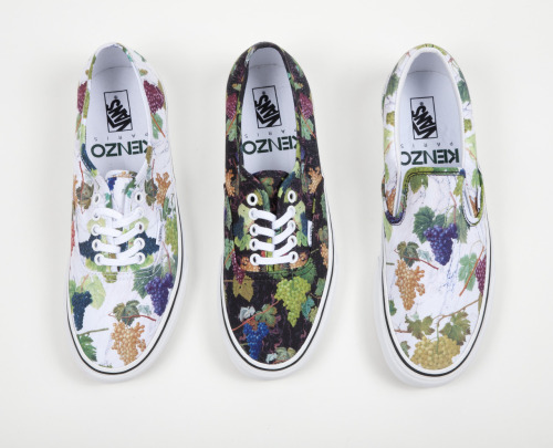 Vans X Kenzo. Now Available. #Want.