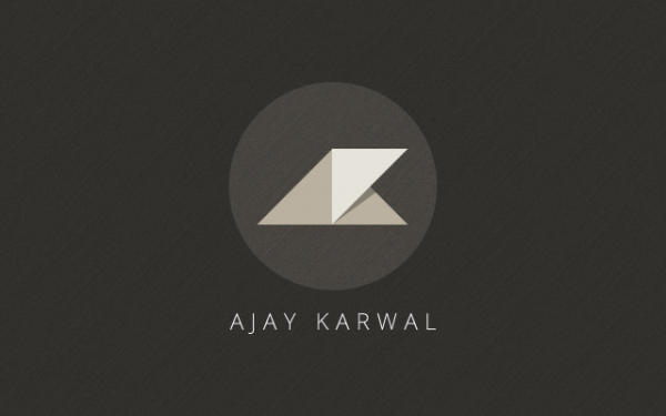 Personal Identity: Final version, created by AjayKarwal. Click to View Full Portfolio.