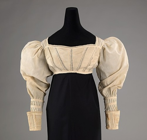 Bodice 1825 The Metropolitan Museum of Art