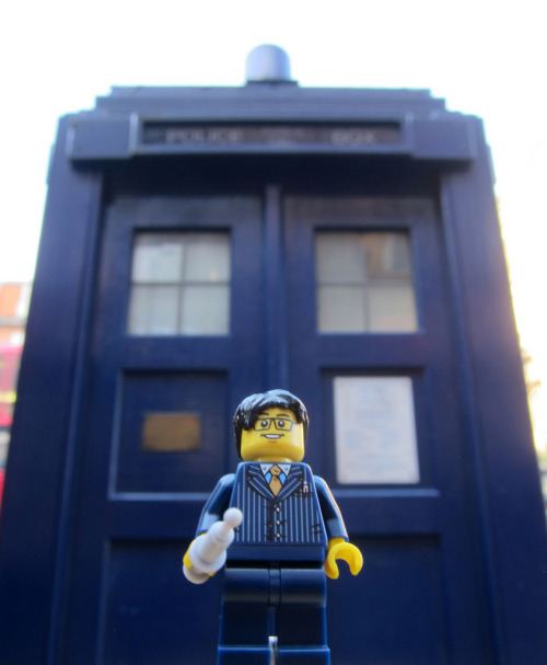 LEGO 10th Doctor & TARDIS Image by Chris Christian