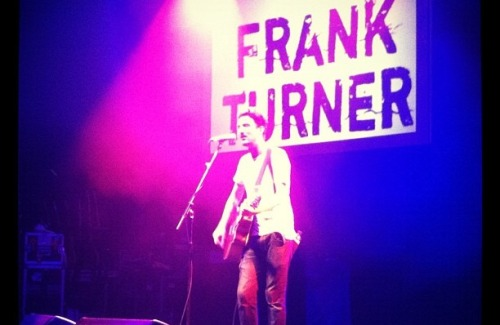 REVIEW: Frank Turner - Roundhouse, London - 20th August 2012. In August, Frank played a charity event alongside a load of other big names. Check out our review of his set!Read review | Follow: TUMBLR | TWITTER | FACEBOOK | YOUTUBE