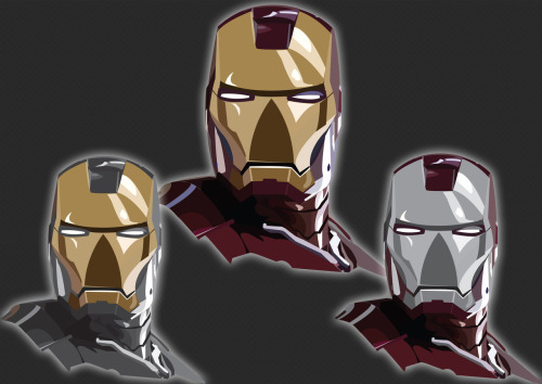 Personal work on Marvel Iron Man I created.